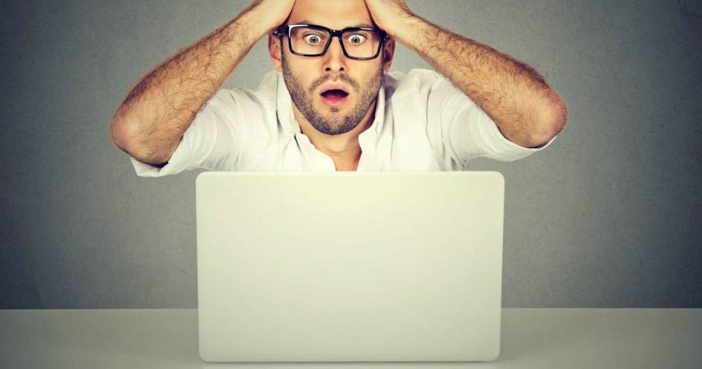 guy screaming - needs LastPass