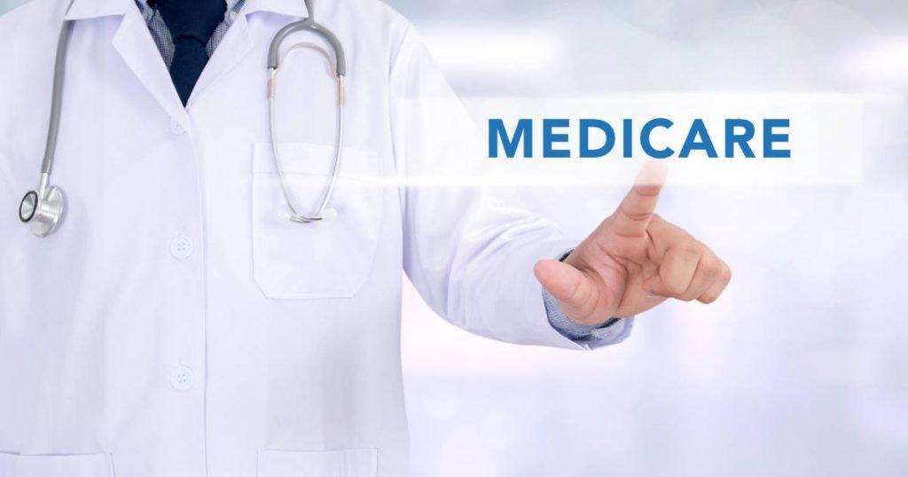 doctor pointing at medicare: medicare basics