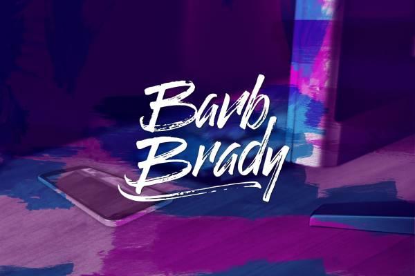 website page barb brady branding
